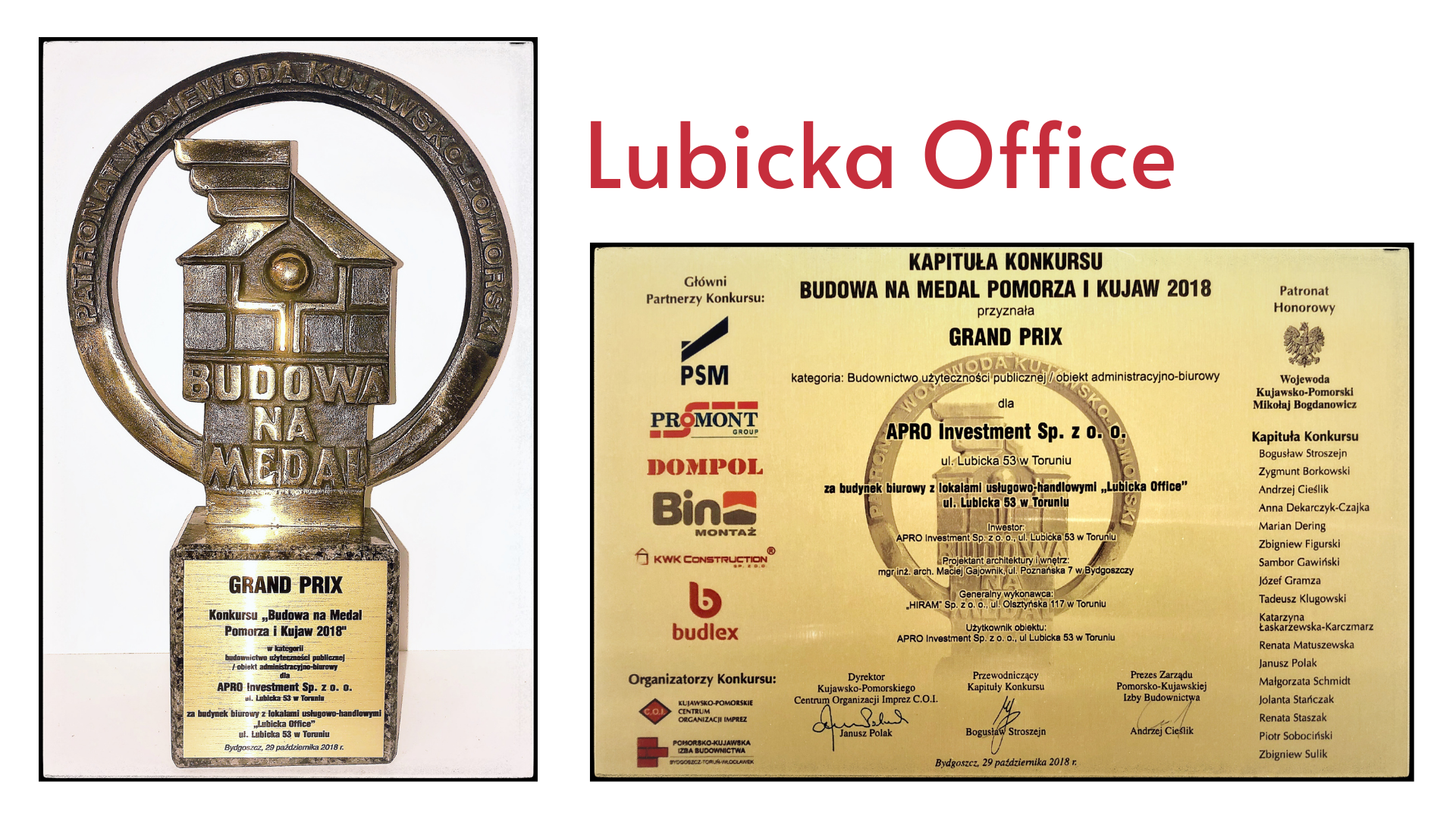 Lubicka Office Apro Investment